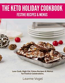 The Keto Holidays Cookbook #keto #lowcarb