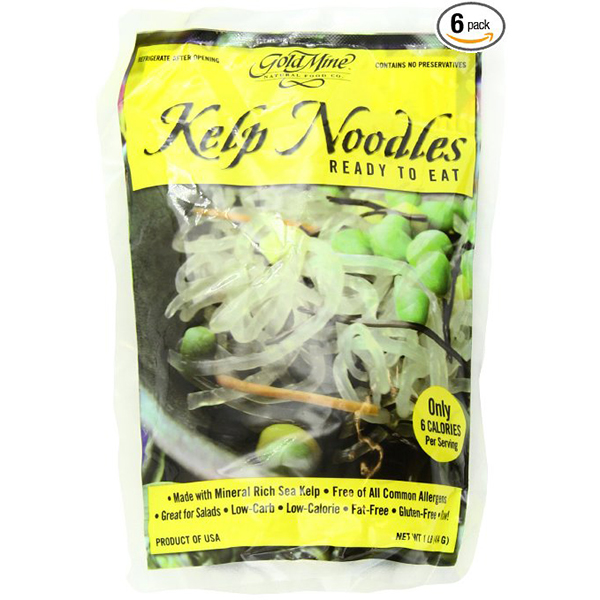 Ketogenic Shopping List -Kelp Noodles
