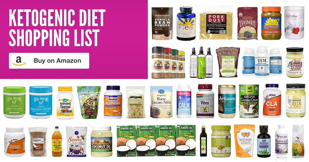 Ketogenic Diet Shopping List | Healthful Pursuit