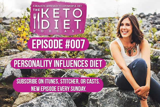 Personality Influences Diet #healthfulpursuit #fatfueled #lowcarb #keto #ketogenic #lowcarbpaleo