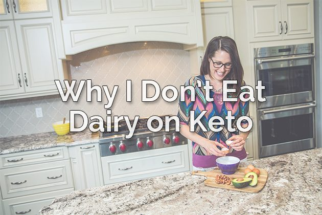 Why I Don't Eat Dairy on Keto #keto #lowcarb
