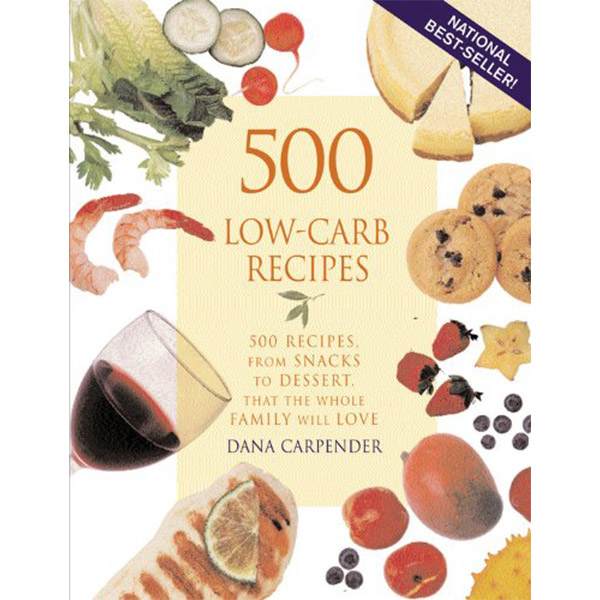 Ketogenic Diet Book List -500 Low-Carb Recipes