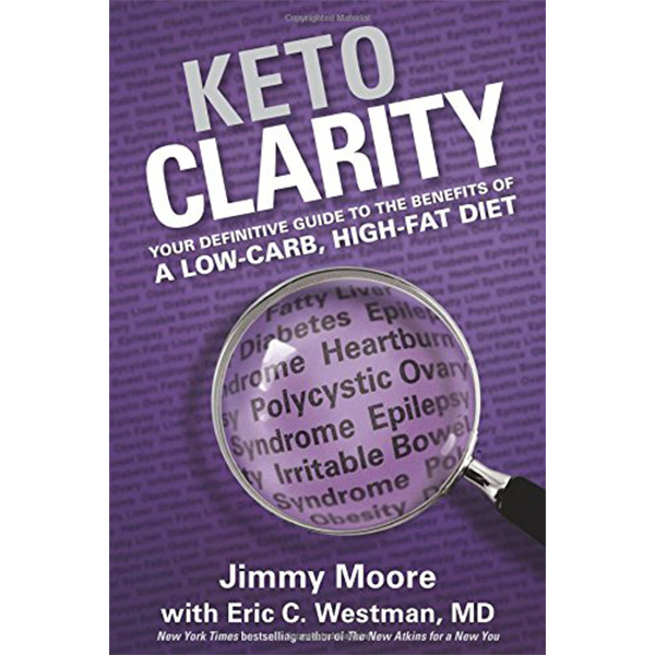 Ketogenic Diet Book List -Keto Clarity