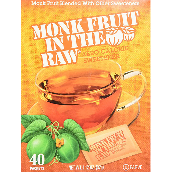 Ketogenic Shopping List -Monk Fruit Sweetener