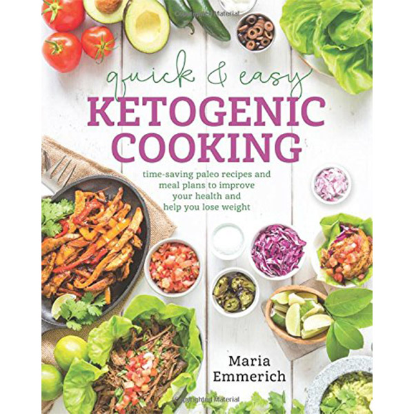 Ketogenic Diet Book List -Quick & Easy Ketogenic Cooking