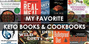 My favorite keto books and cookbooks