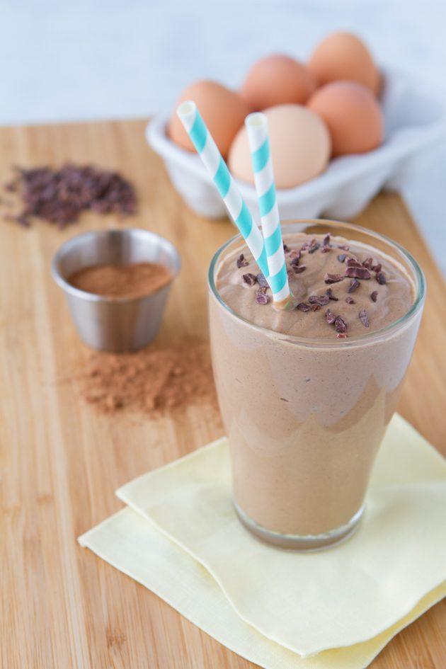 Delight in this keto milkshake… for breakfast.