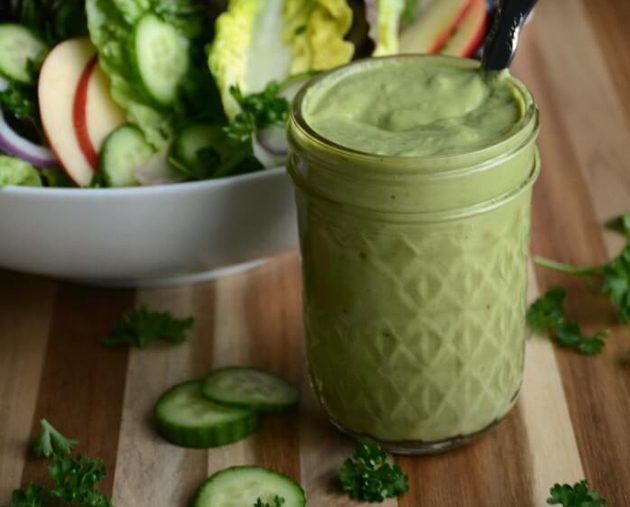 17 Keto Salad Dressings (paleo, too!) #keto #lowcarb #highfat