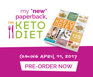 The Keto Diet paperback book