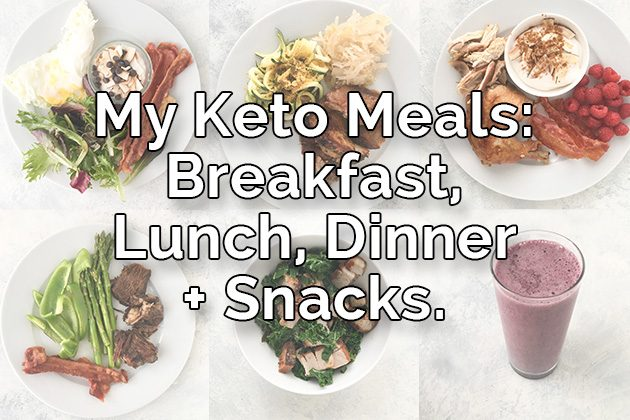 Keto Meals Breakfast Lunch Dinner Healthful Pursuit