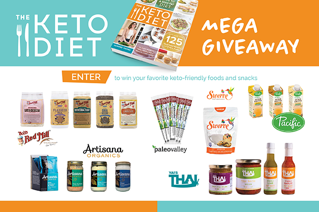 Win a MEGA pack of keto-friendly foods and snacks #keto #lowcarb #highfat