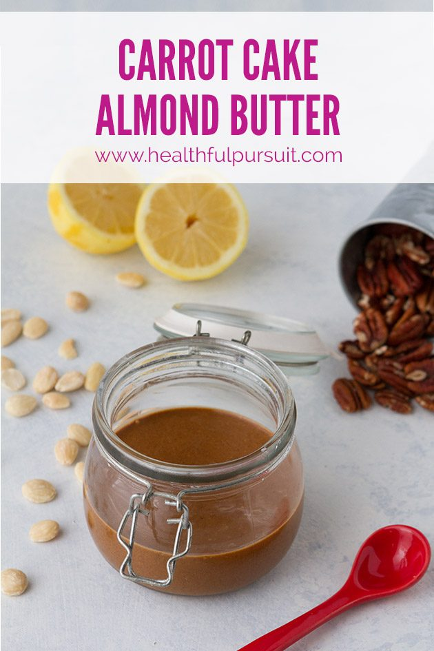Carrot Cake Almond Butter #keto #lowcarb #highfat