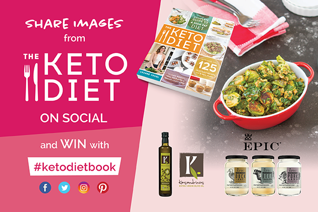 WIN with The Keto Diet paperback #ketodietbook #keto #lowcarb #highfat