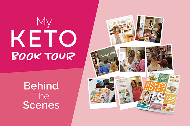 My Keto Book Tour - Behind the Scenes #keto #lowcarb #highfat #theketodiet #ketodietbook