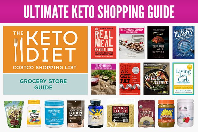 Ultimate Keto Shopping Guide #keto #lowcarb #highfat #ketoguide #ketoshopping #fatfueled #lchf #lowcarbshopping #theketodiet #lowcarbgrocerylist #ketogroceries