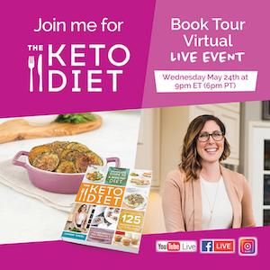 Keto Diet Book Tour Virtual Event