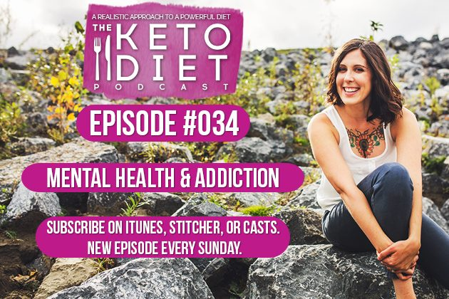 Mental Health & Addiction #healthfulpursuit #fatfueled #lowcarb #keto #ketogenic #lowcarbpaleo