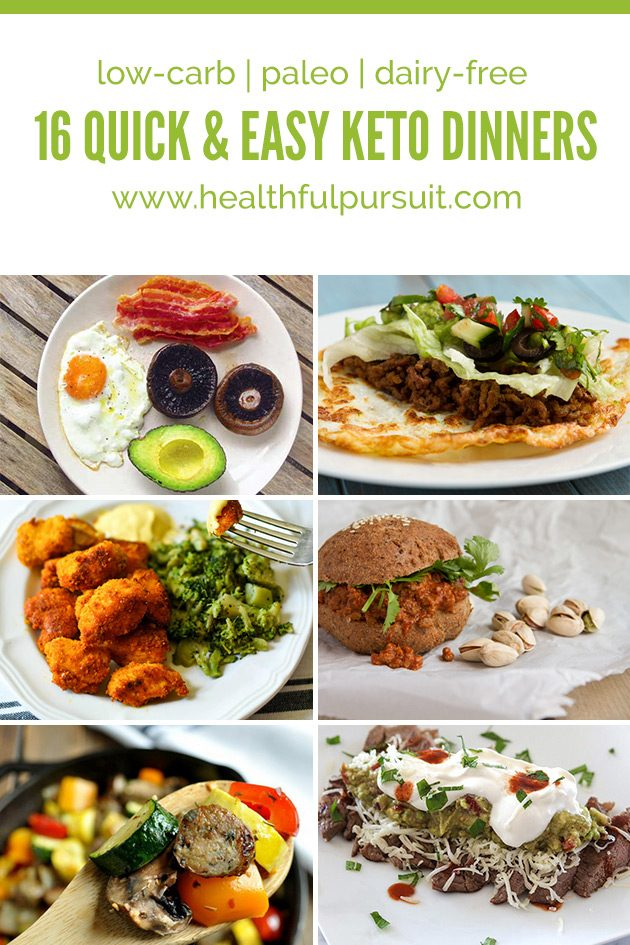 16 Quick And Easy Keto Dinners Healthful Pursuit