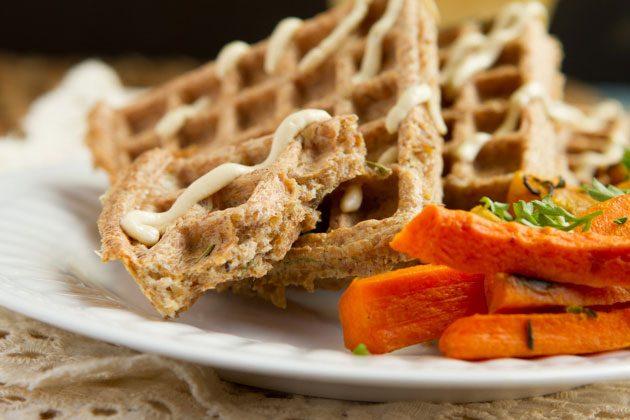 Crispy Keto Flaxseed Waffles