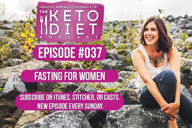 Fasting for Women #healthfulpursuit #fatfueled #lowcarb #keto #ketogenic #lowcarbpaleo #theketodiet