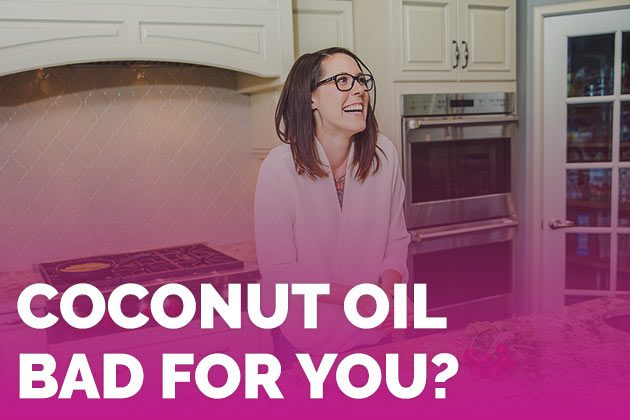 AHA says coconut oil is bad for you...