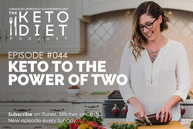 Keto To The Power of Two #healthfulpursuit #fatfueled #lowcarb #keto #ketogenic #lowcarbpaleo #theketodiet