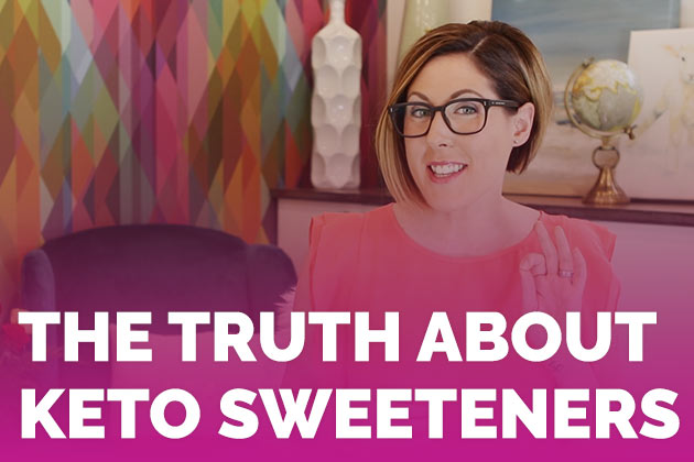 The Truth About Keto Sweeteners #keto #lowcarb #highfat #theketodiet