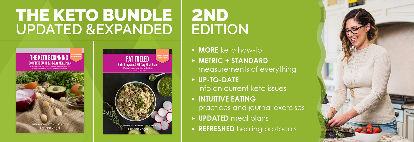 The Keto Bundle upgraded and expanded