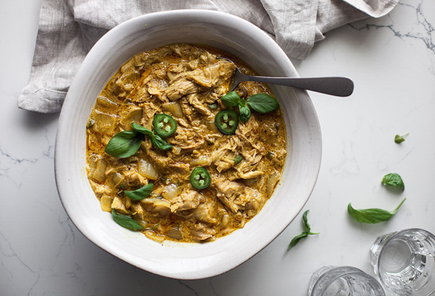 Paleo Coconut Curry Chicken Recipe