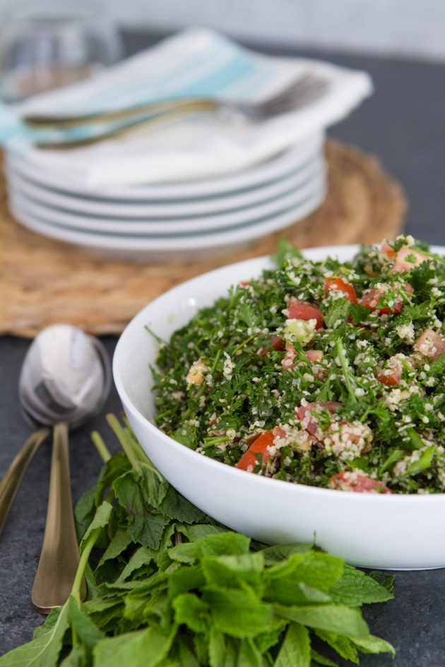 Keto Tabouleh recipe… made with hemp hearts! #keto #lowcarb #highfat #theketodiet