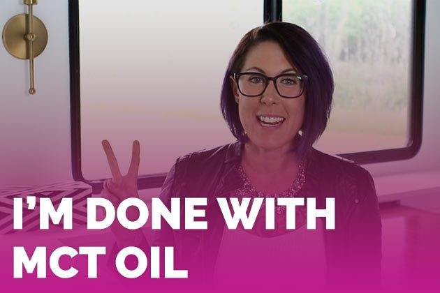 Why I Don't Use MCT Oil Anymore #keto #lowcarb #highfat #theketodiet
