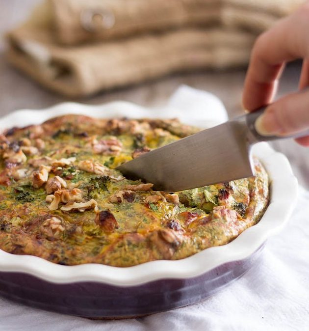 Chicken Broccoli Frittata