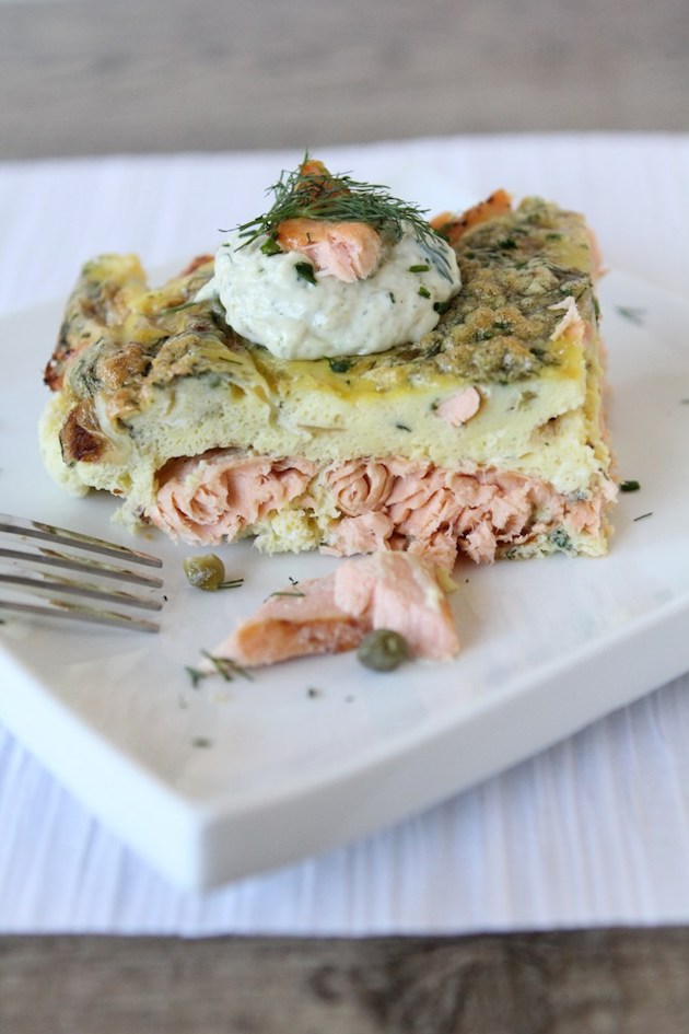 Salmon Breakfast Frittata