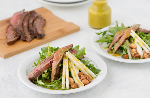 Matchstick Beef Salad #keto #lowcarb #highfat #theketodiet #ketochristmas #ketothanksgiving