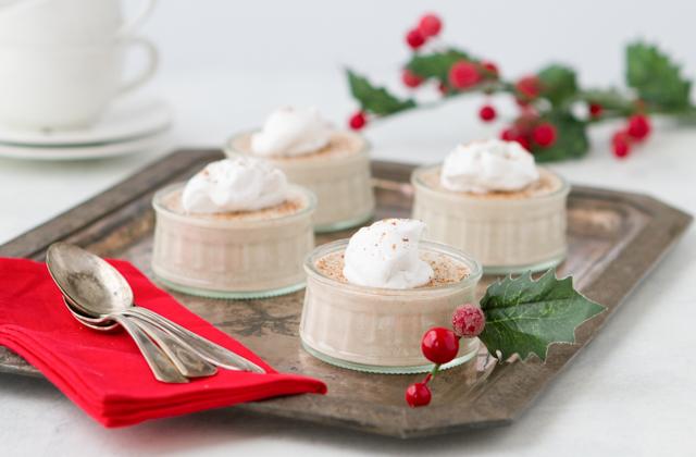 Eggnog Pudding #keto #lowcarb #highfat #theketodiet #ketochristmas #ketothanksgiving