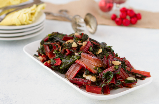 Collards with Herb Butter #keto #lowcarb #highfat #theketodiet #ketochristmas #ketothanksgiving