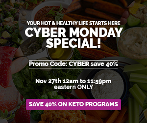 Keto Cyber Monday Sale!