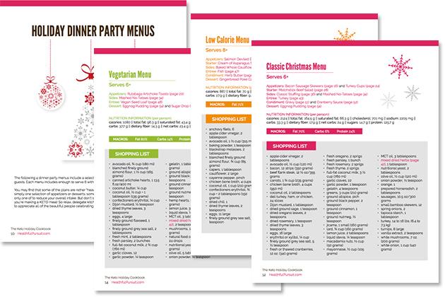 The Keto Holiday Cookbook #keto #lowcarb #highfat #theketodiet #ketochristmas #ketothanksgiving