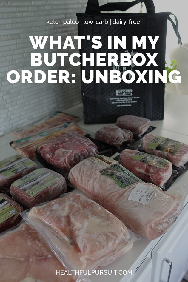 ButcherBox unboxing - what's inside! #grassfed #grassfedbeef #paleo #keto