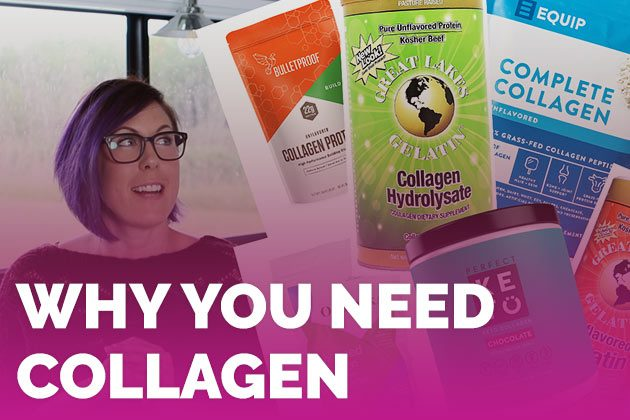 Difference Between Collagen + Gelatin (plus why you need it!) #keto #lowcarb #highfat #theketodiet