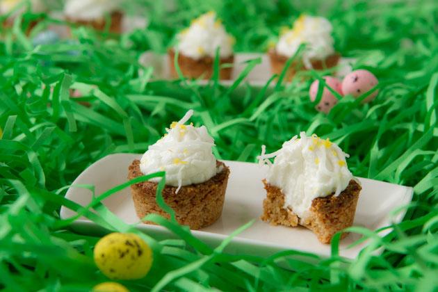 Grain-free Lemon Cookie Tarts #keto #lowcarb #highfat #theketodiet #ketobakedgoods #ketodesserts #eggfree #lakanto