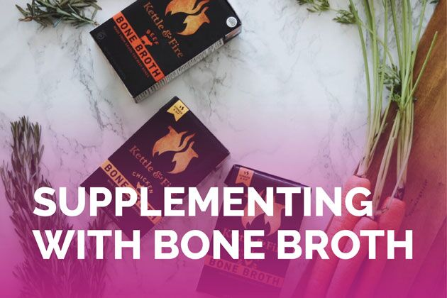 Avoid keto flu and support your gut with Kettle and Fire bone broth! #keto #lowcarb #highfat #theketodiet #ketoflu #bonebroth #fatfueled #ketogenic #lchf