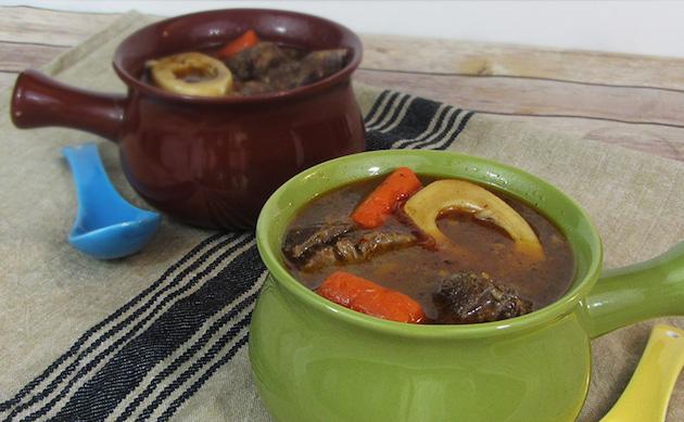 Easy Bone Marrow Beef Stew