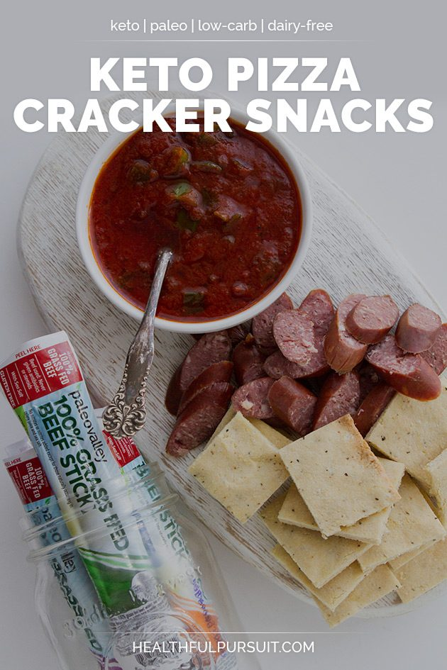 Keto Pizza Cracker Snacks #keto #lowcarb #highfat #theketodiet