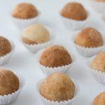 Keto Vegan Cheesecake Balls #keto #lowcarb #highfat #theketodiet