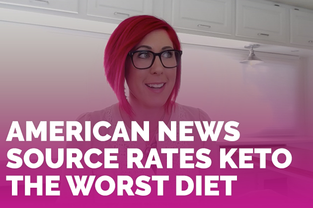 American News Source Rates Keto The Worst Diet #keto #lowcarb #highfat #theketodiet