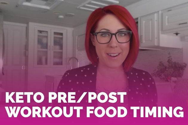 Keto Pre/Post Workout Food Timing #keto #lowcarb #highfat #theketodiet