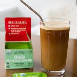 Chilled Chaga Keto Coffee #keto #lowcarb #ketocoffee