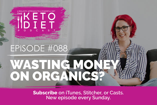 Wasting Money On Organics? #healthfulpursuit #fatfueled #lowcarb #keto #ketogenic #lowcarbpaleo #theketodiet