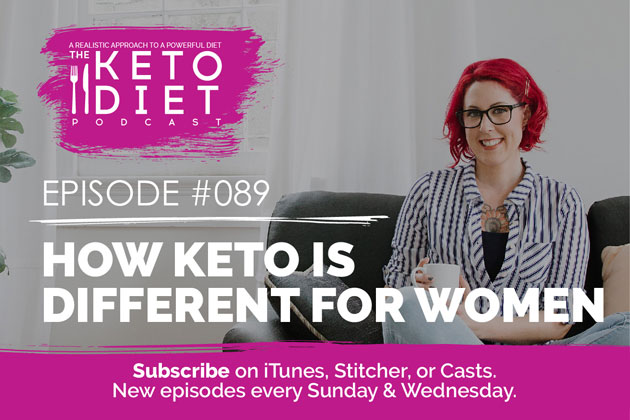 How Keto Is Different For Women #healthfulpursuit #fatfueled #lowcarb #keto #ketogenic #lowcarbpaleo #theketodiet